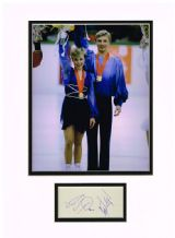 Jayne Torvill & Christopher Dean Autograph Signed